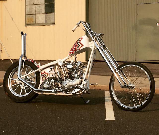 Harley Davidson Knucklehead By Ehinger Kraftrad Hell Kustom