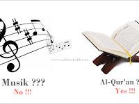 Beberapa Dalil Haramnya Musik dan Nyanyian