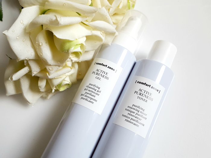 review: Comfort Zone ACTIVE PURENESS Purifying Cleansing Gel & Purifying Renewing Toner