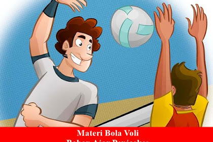 Bahan Ajar Penjaskes SMA: Materi Bola Voli