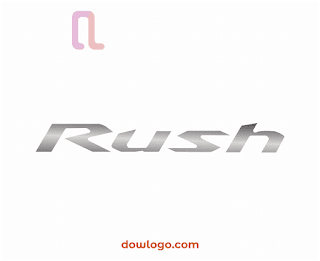 Logo Toyota Rush Vector Format CDR, PNG