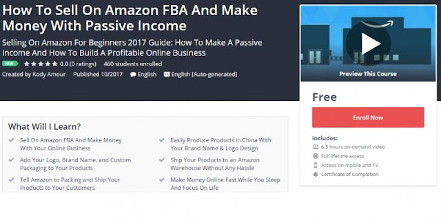 [100% Free] How To Sell On Amazon FBA And Make Money With Passive Income