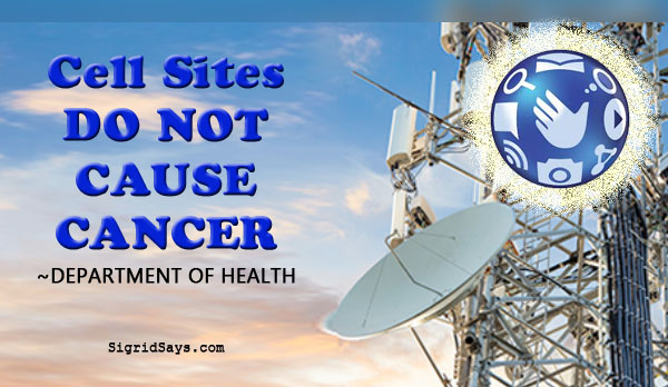 cell sites do not cause cancer - health - radiation - Globe Telecom - faster internet - more cell towers - Bacolod blogger - development - technology - digital age - homeowners - Filipinos - Department of Health - health phyisicist - awareness