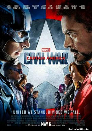 Captain America: Civil War (2016) Full Movie Download in Hindi 1080p 720p 480p