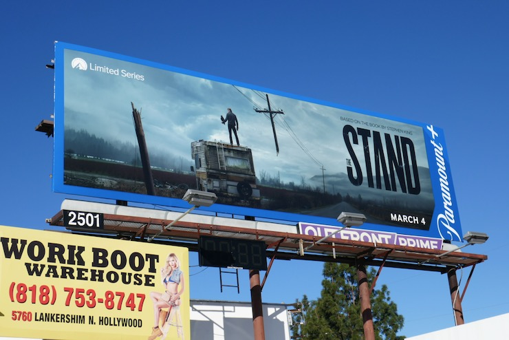 The Stand Paramount plus billboard