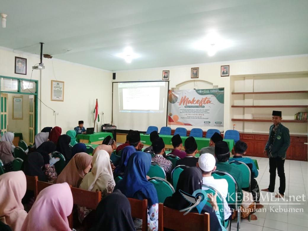 PC IPNU-IPPNU Kebumen Gelar Acara Makesta Untuk Mahasiswa