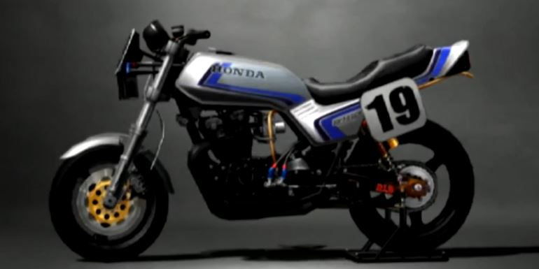 Honda CB750F 1981 Racing Modified