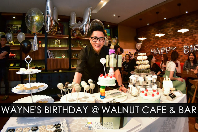 Wayne's Birthday Party @ Walnut Cafe & Bar