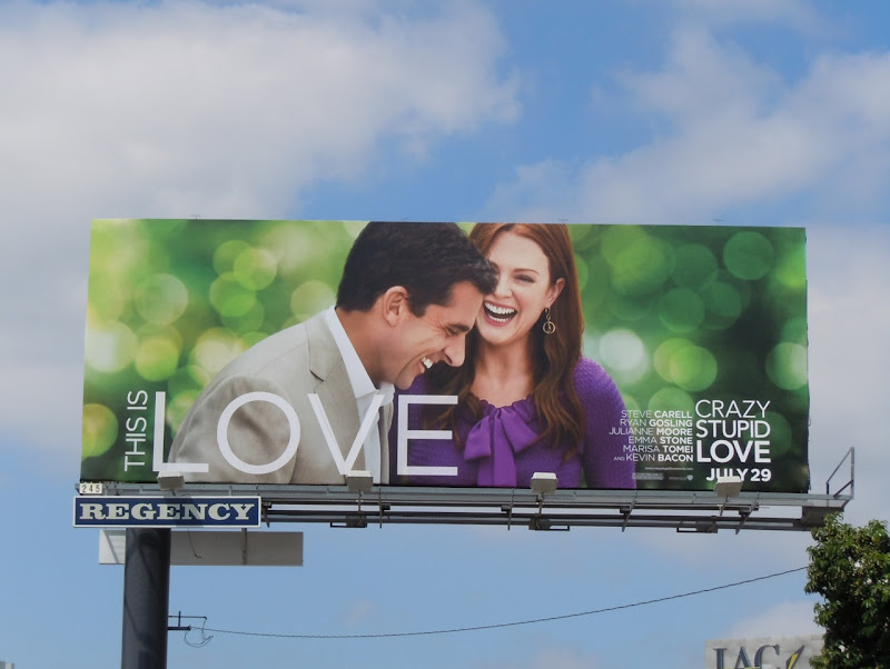 Crazy Stupid Love billboard