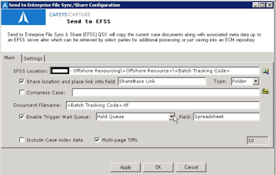 EFSS QSX by CAPSYS CAPTURE for ShareBase by Hyland