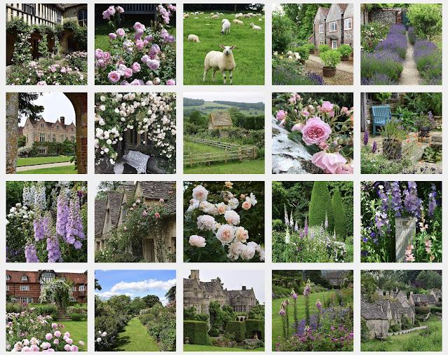 English garden zahrada