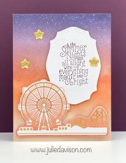 8 MORE July 2020 Paper Pumpkin Alternative Cards + Summer Nights Add-On Card Kit ~ www.juliedavison.com #stampinup #paperpumpkin #summernights
