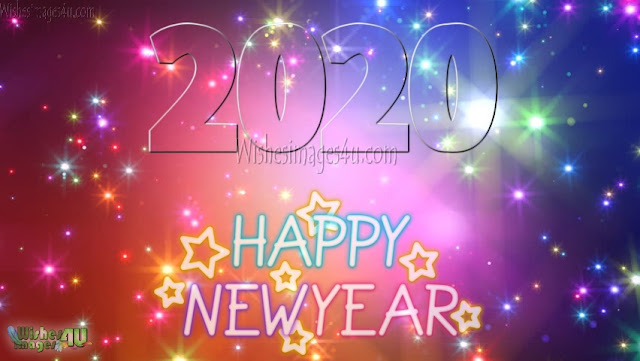 Happy New Year 2020 Sparkling Images in HD Download Free