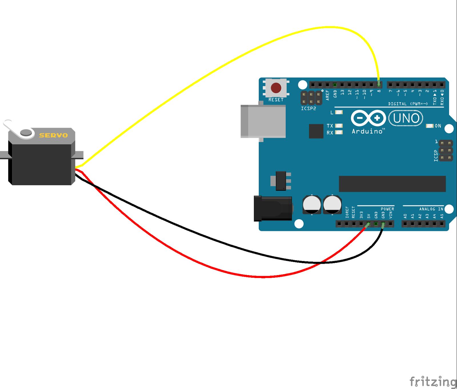 Arduino Code For 360 Servo