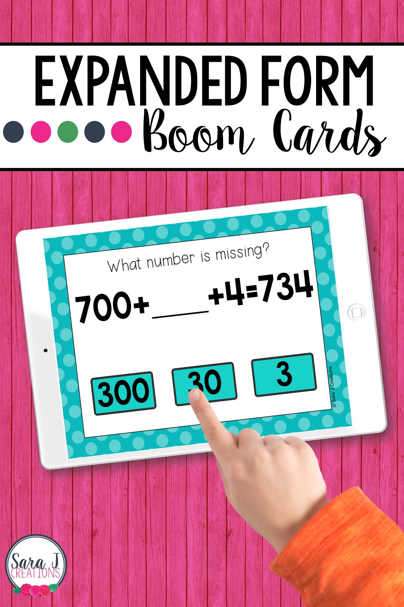 Make digital learning fun with these engaging, no prep Expanded Form Boom Cards. These digital task cards are perfect for remote learning but can also be used in a traditional classroom on devices such as ipads, tables, Chromebooks, smartboards, and more. Designed for 2nd grade, these place value task cards include numbers up to 1,000.
