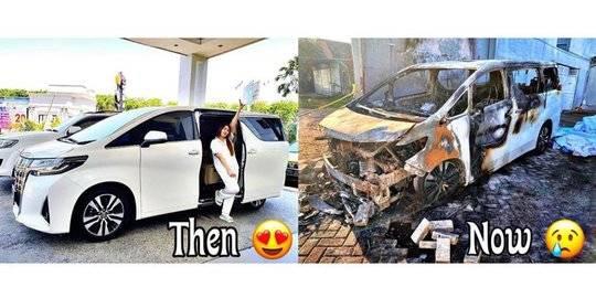Via Vallen Curhat 3 Bulan Nganggur Tak Ada Uang, Mobil Dibakar saat Asuransi Selesai