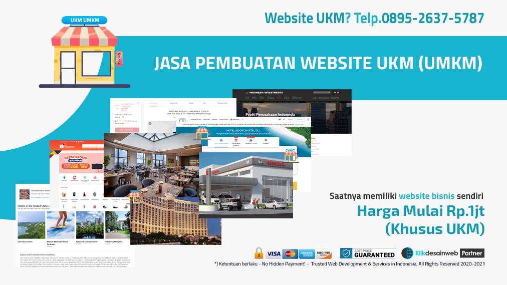 jasa pembuatan website ukm,jasa pembuatan website umkm,website umkm