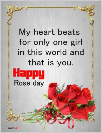 Rose Day Status Greetings, Posters