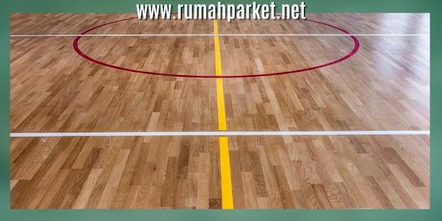 lantai untuk lapangan basket - lantai kayu solid jati