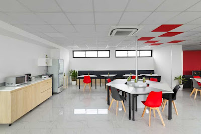 Địa chỉ bán bàn ghế setup văn phòng co-working space tại HCM - 5