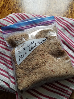 How to make Fresh Bread Crumbs.