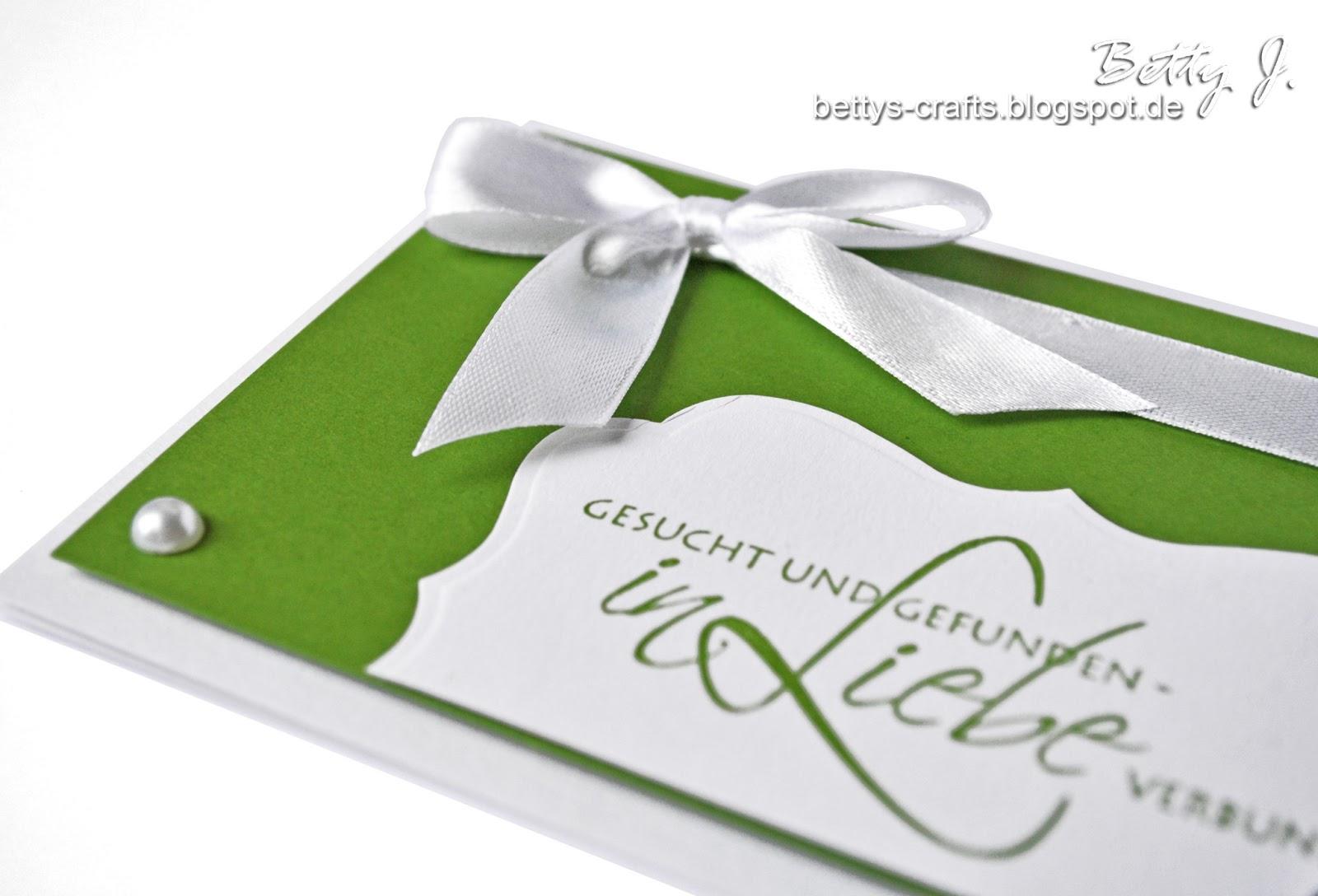 Bettys Crafts Hochzeitseinladung Gesucht Und Gefunden Die Funfte