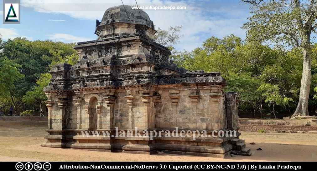 Polonnaruwa Siva Devale No. 2