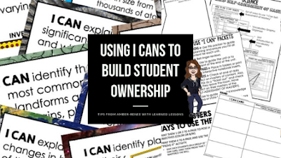 I Cans, Student Ownership, ROI, Student Engagement