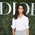Iman Perez posa para fotos no lançamento da exibição 'Christian Dior, couturier du rêve' comemorando 70 anos de criação, em Paris, França – 03/07/2017