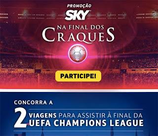 Promoção Sky na Final dos Craques