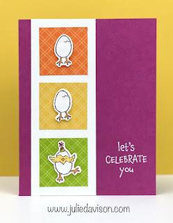 Stampin' Up! Hey Chick ~ Hey Birthday Chick Card ~ January-June 2021 Mini Catalog #stampinup #heychick www.juliedavison.com