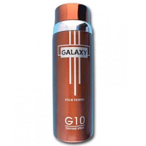 Galaxy Plus G 10 200 ml Body Spray 6.67 fl.oz.