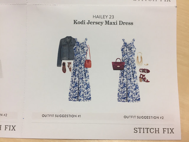 Stitch Fix Hailey 23 | Kodi Jersey Maxi Dress