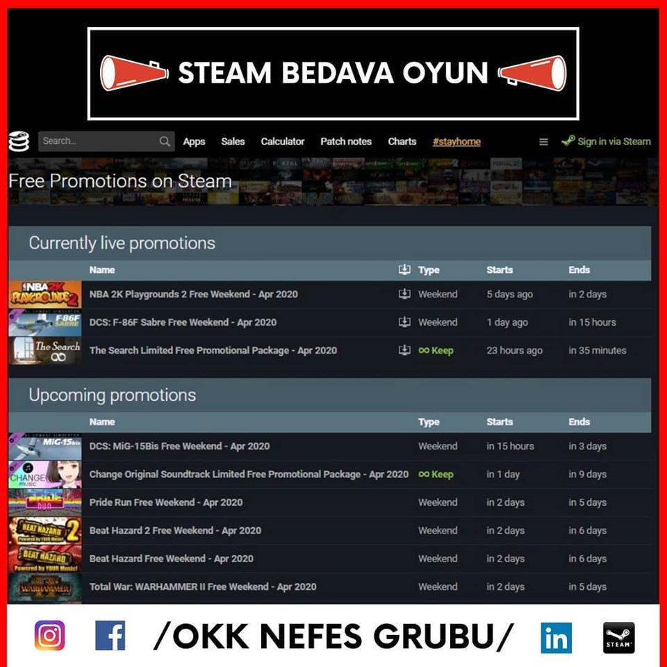Steam'de Bedava Oyun Nasıl İndirilir
