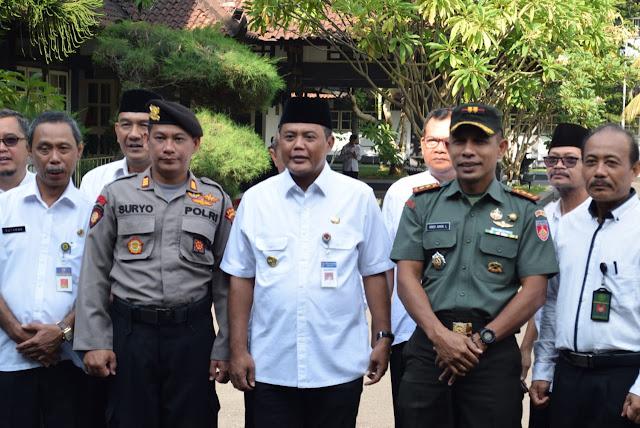 KodimKaranganyar - Pesan Bupati Karanganyar Saat Apel Peringati Hari Nusantara 2019
