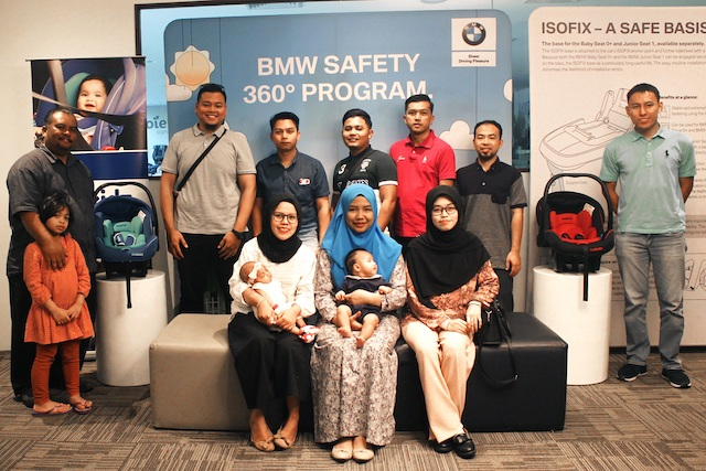 BMW Malaysia Urges More Partners to Support Child Car Seat Subsidy Programme with Safe 'n Sound and Childline Foundation