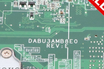 DABU3AMB8E0 REV E TOSHIBA T135D Laptop Bios