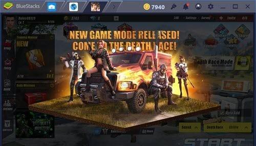 Công việc đấu đột kích đua moto của Rules of Survival mobile đơn giản hơn nhiều