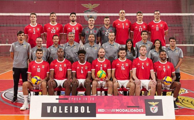 Benfica Plantel de Voleibol para a nova temporada