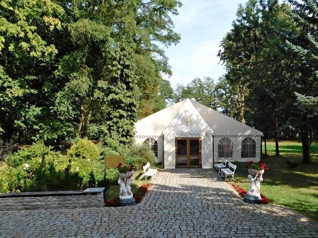 park, namiot, pałac, Sulisław, kolodomu