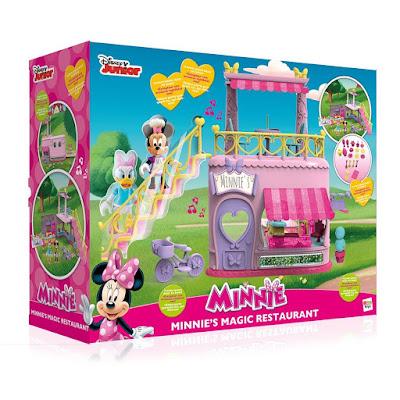TOYS : JUGUETES - DISNEY Minnie Mouse - Restaurante mágico con Daisy Producto Oficial Serie Disney Junior 2016 IMC Toys | A partir de 3 años Comprar en Amazon España