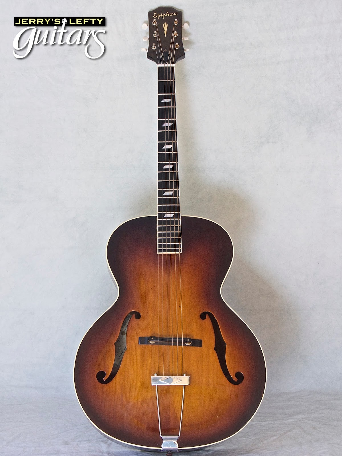 1947 Epiphone Blackstone Used Left Handed Guitar 8 5 15
