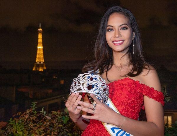 Vaimalama Chaves présente la nouvelle couronne Miss France 2020