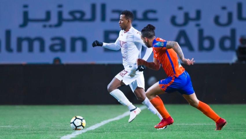 تقرير مباراة الفيحاء واهلي جدة  في الدوري السعودي