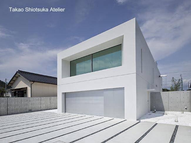Arquitectura de casas casas modernas minimalistas for Casa moderna japonesa