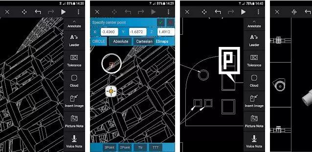 Aplikasi CAD Gratis Terbaik Untuk Android-5