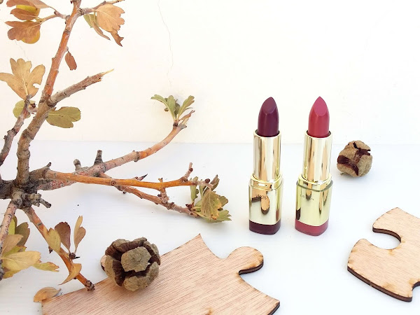 Milani Colour Statement Lipsticks - Plumrose & Sangria