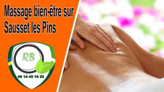 Massage bien-être sur Sausset les Pins;