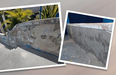Restauração de muro