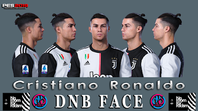 PES 2019 Faces Cristiano Ronaldo by DNB
